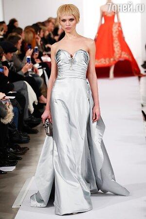 Oscar de la Renta, показ коллекции осень-зима 2014/15 в рамках Недели моды в Нью-Йорке