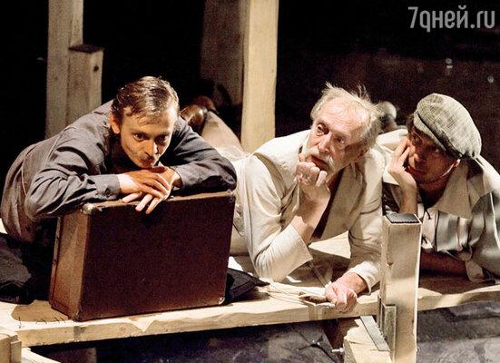 Спектакль «Золотой теленок, или Возвращение в Одессу» (Театр «Эрмитаж»)