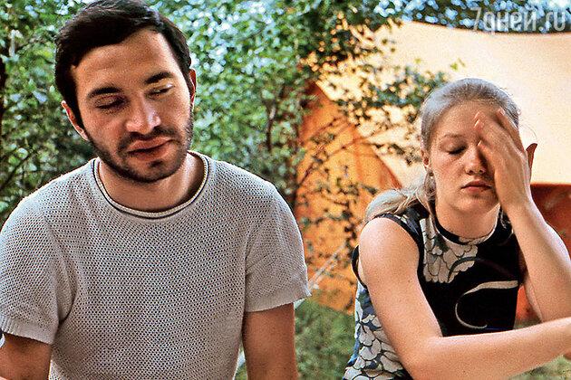 С первым мужем Виталием Мелик-Карамовым