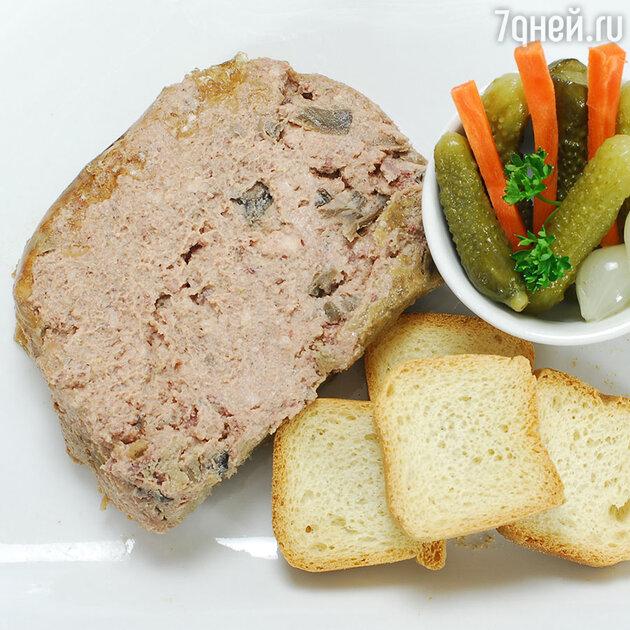 Утиный паштет: рецепт от шеф-повара Мишеля Ломбарди
