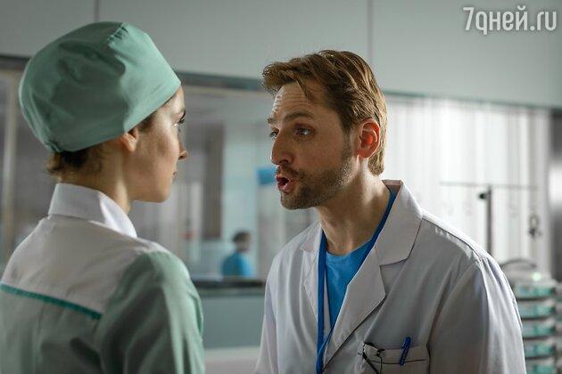 Кадр из сериала «Крестный»