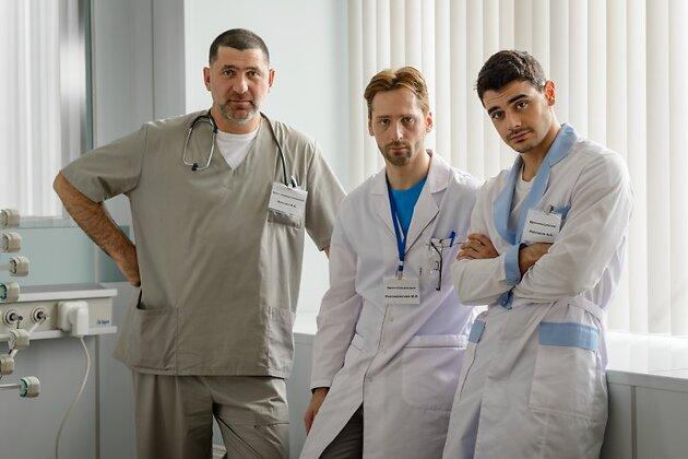 Актеры сериала «Крестный»