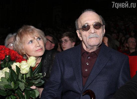 Георгий Данелия с супругой Галиной