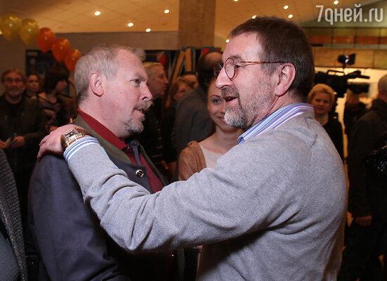 Андрей Макаревич и Леонид Ярмольник