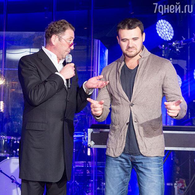 Григорий Лепс и Эмин Агаларов