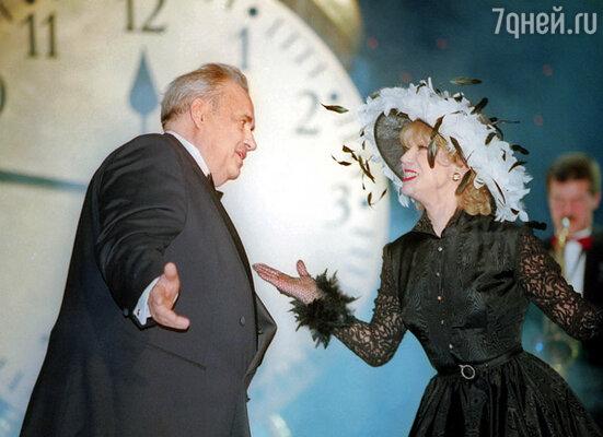 Эльдар Рязанов и Людмила Гурченко