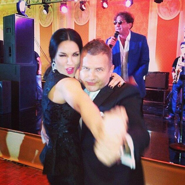 Григорий Лепс поздравил Ани Лорак с юбилеем