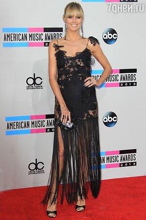 Хайди Клум на American Music Awards 2013