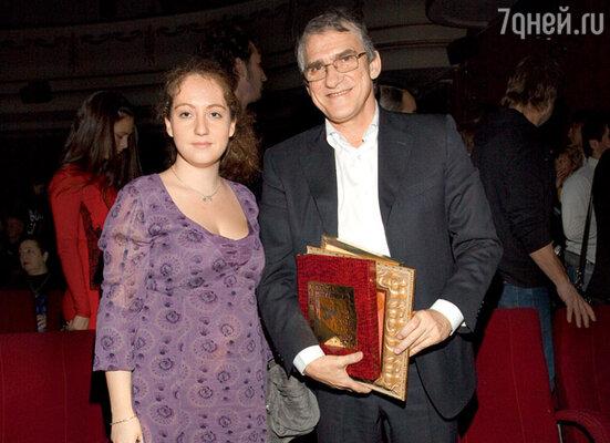 Валерий Гаркалин с дочерью Никой