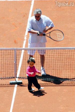 Роберт Де Ниро и его дочь Хелен Грейс. 2013 г.