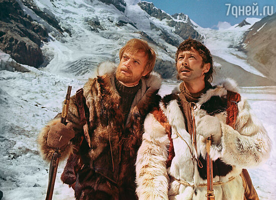 Кадр из фильма «Земля Санникова», 1972 г. (Владислав Дворжецкий и Олег Даль)
