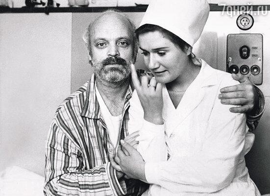 В больнице, несмотря на инфаркт,  Владик строил глазки медсестрам, хохмил — одним словом, храбрился