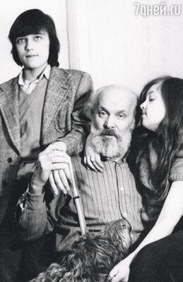 Вацлав Янович очень любил внуков Сашу и Лидочку