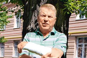 Гольф довел Кокшенова до больницы