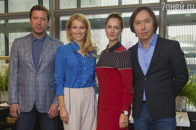 Андрей Мерзликин, Женя Малахова, Виктория Исакова, Ренат Давлетьяров