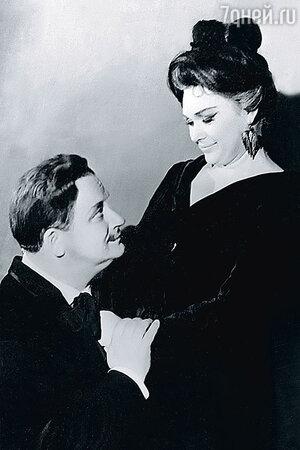 Нина Архипова и Георгий Менглет