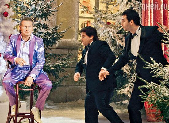 Эпизод с Леонидом Агутиным, Александром Цекало и Иваном Ургантом снимали до неприличия долго