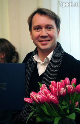 11 ноября состоится празднование 70-летний юбилей школы-студии МХАТ. (На фото: выпускник  Школы-студии МХАТ Евгений Миронов)