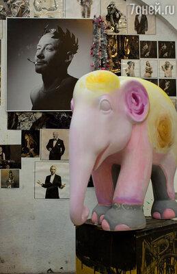 15 ноября пройдет фестиваль «Купи слона!» благотворительного фонда «Быть вместе». (На фото: слон Андрея Шарова)
