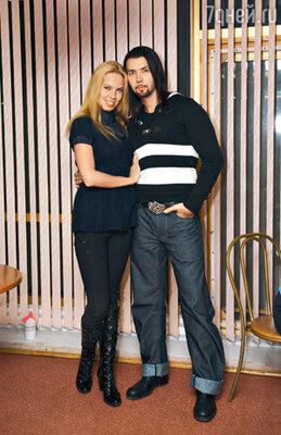 Денис Клявер со своей девушкой Ириной