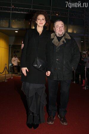 Ксения Раппопорт и Павел Лунгин