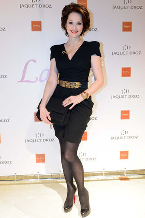 Ольга Кабо на презентации швейцарского часового  бренда
