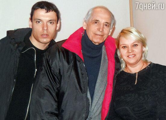 С Сережей и его папой