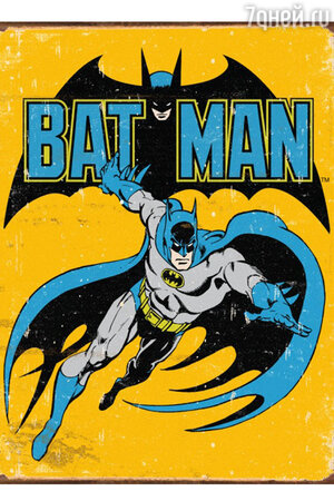 Обложка комикса «Бэтмен»