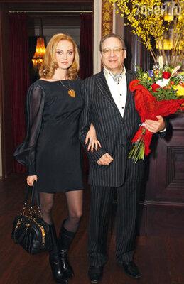 Максим Дунаевский и его жена Марина