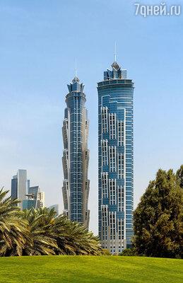 Самый высокий отель в мире «JW Marriott Marquis»