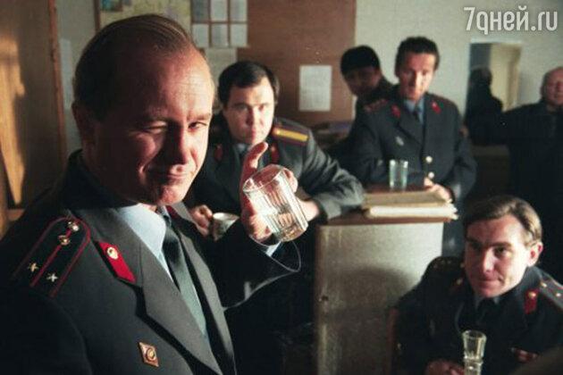 Андрей Панин в  сериале «Бригада».  2002 год