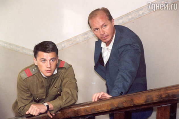 Андрей Панин с Игорем Петренко в фильме «Водитель для Веры»