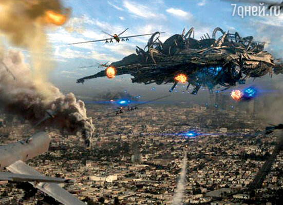 Кадр фильма «Скайлайн»