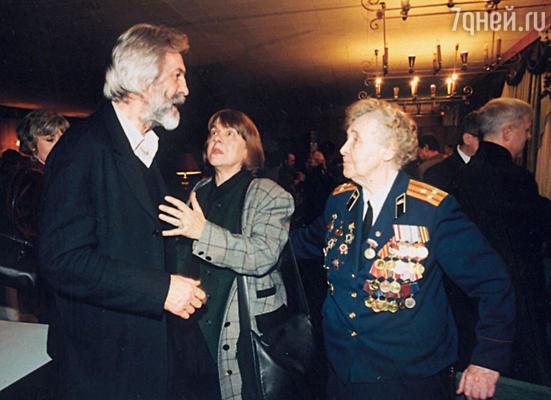«Мы с Борей всегда были как одно целое...» (Луиза и Борис Хмельницкие 2000 г.)