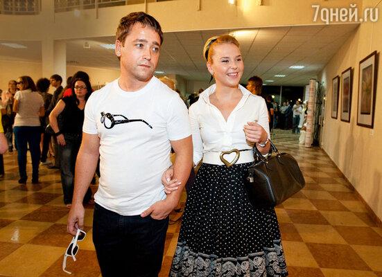 Пелагея с бывшим мужем Дмитрием Ефимовичем