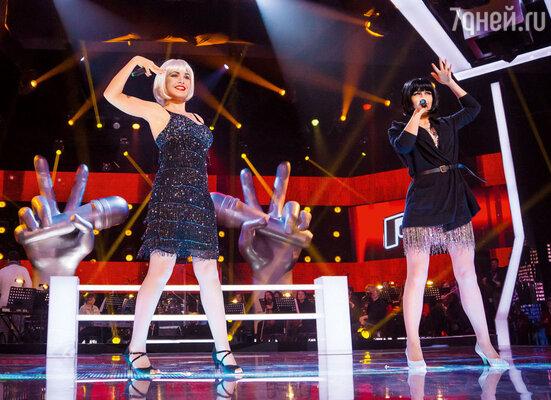 ...но Леонид Агутин спас Катю и оставил ее на проекте «Голос» в своей команде