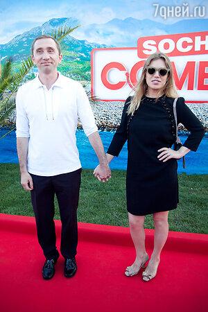Дмитрий Грачев с супругой Жанной