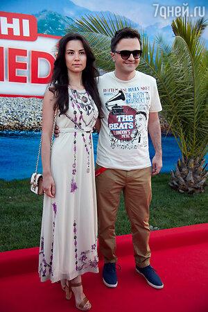 Зураб Матуа с женой Анастасией