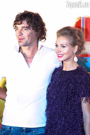 Дмитрий Люсек-Сорокин и Кристина Асмус