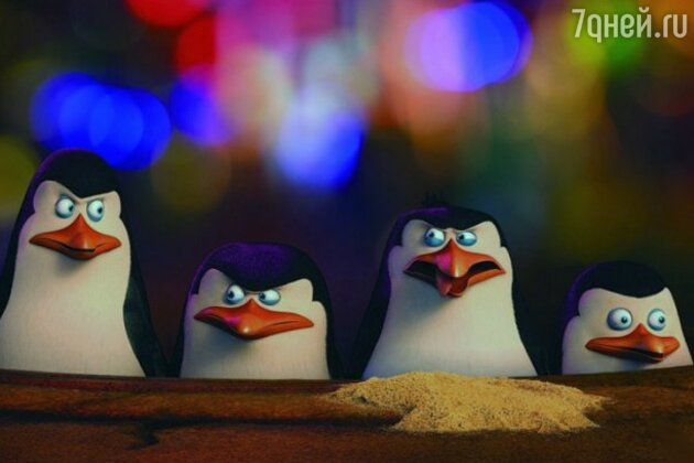 Кадр из фильма «Пингвины Мадагаскара»