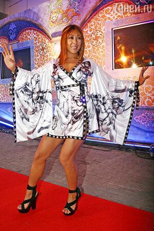Анита Цой на церемонии вручения наград премии «MTV Russia Music Awards-2007»