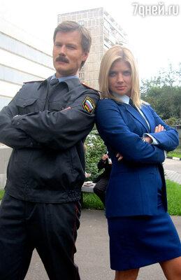 Анастасия Задорожная в сериале «Преступление будет раскрыто»