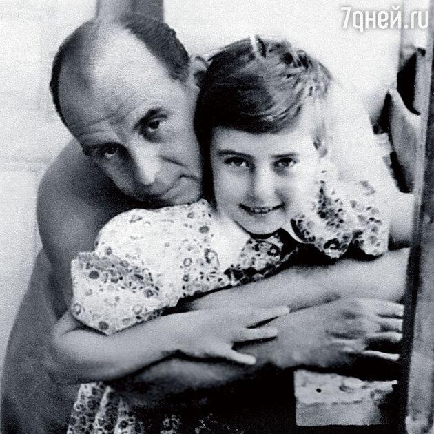 Владимир Лепко с дочерью Викторией Лепко