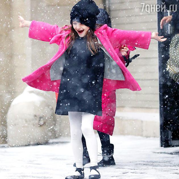 Сури Круз. Снегопад в Нью-Йорке, январь 2014 года