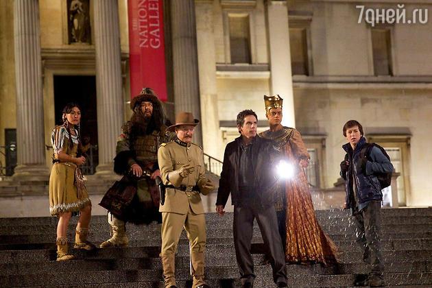 Кадр из фильма «Ночь в музее: Секрет гробницы»