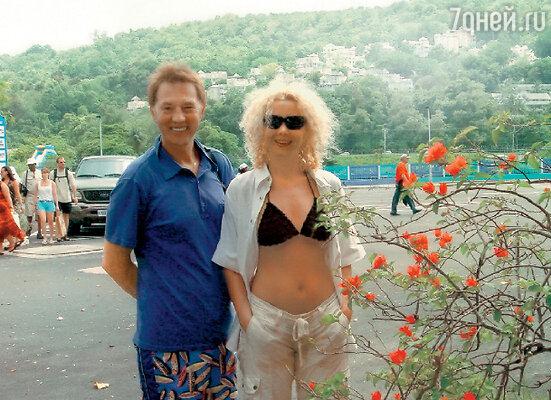 Супруги Евгений Меньшов и Ольга Грозная