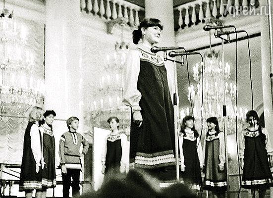 Я пела в Большом детском хоре Всесоюзного радио и Центрального телевидения и объездила весь мир
