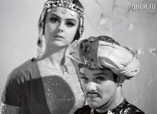 «С мужем, режиссером и актером Владимиром Андреевым, мы познакомились на съемках фильма «Калиф-Аист»