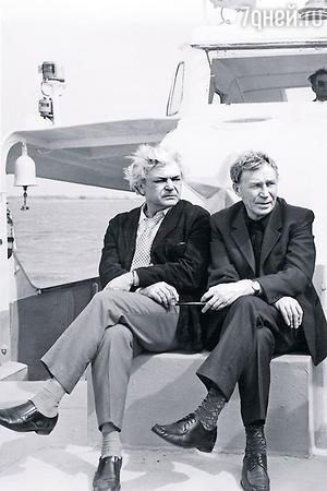Сергей Бондарчук и Иван Лапиков