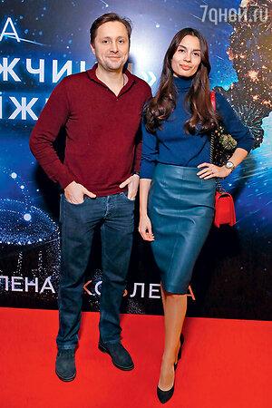 Артем Михалков с Дарьей Баженовой